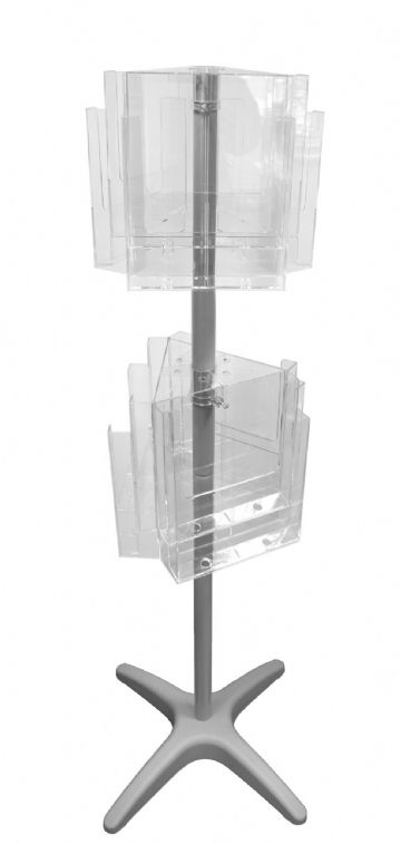 12RC230F | 12 Pocket A4 Floor Standing Carousel